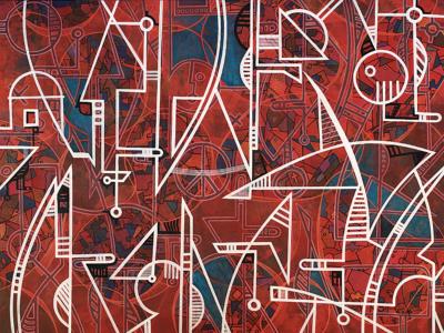Pintura Ricardo Pamanes 1