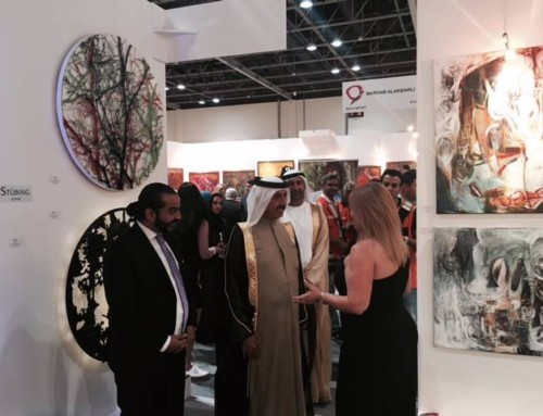 Opening at World Art Dubai