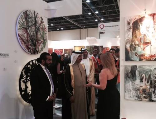 Opening at World Art Dubai