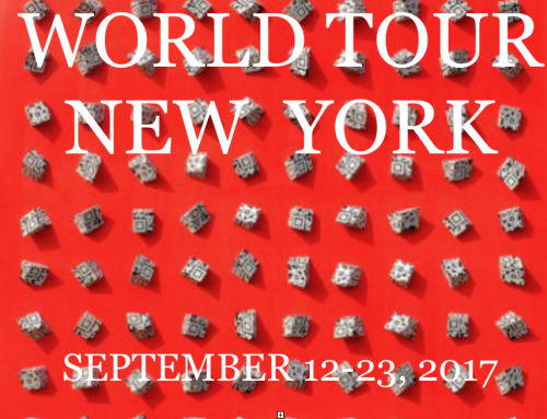 2017 | September | World Tour New York