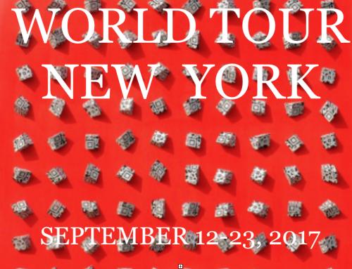2017 | September | World Tour New York