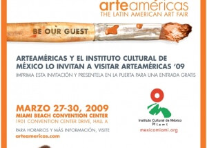Arteamerias invitation