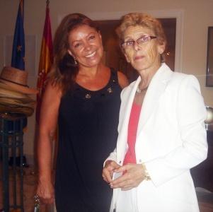Nina-Embajadora de Espana en Miami