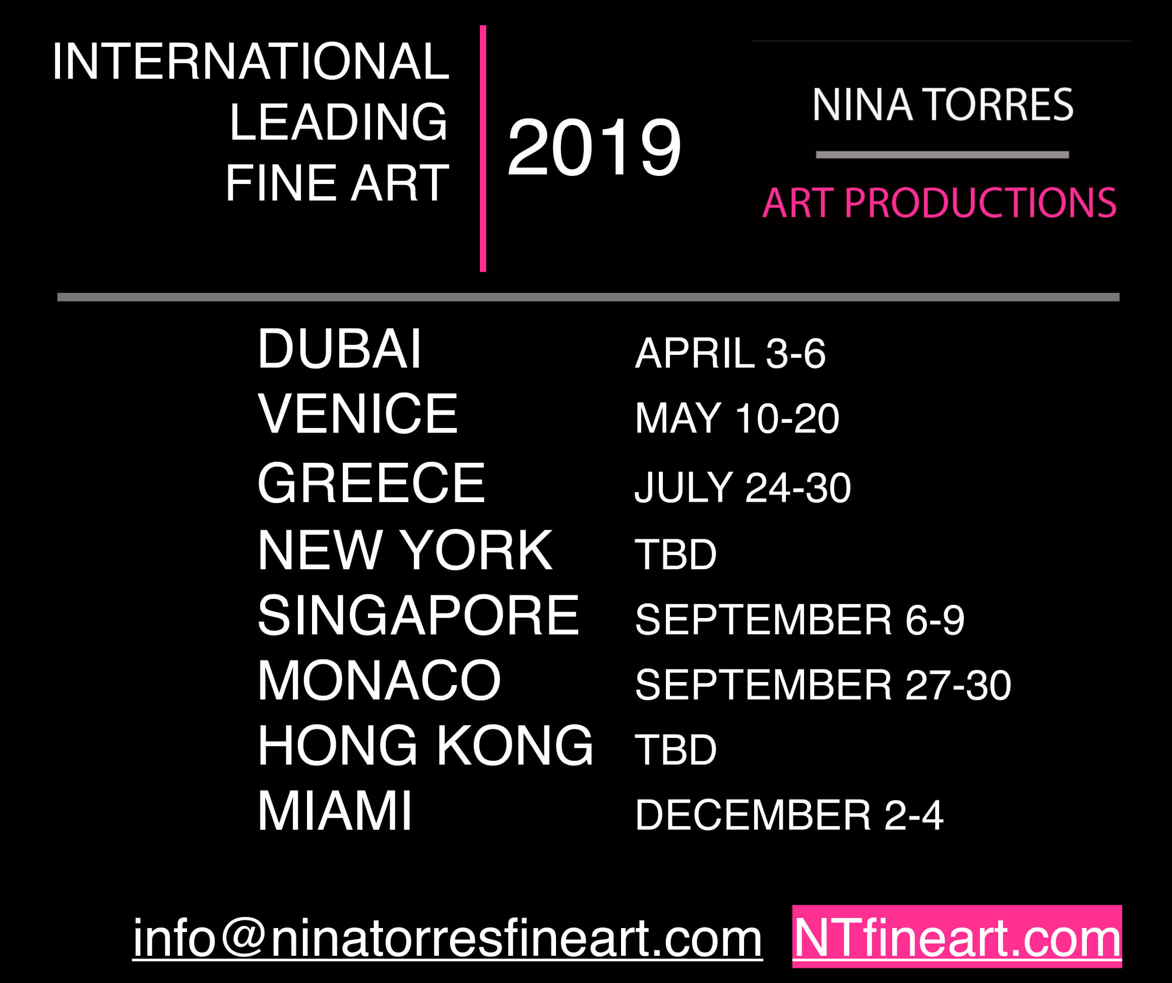 WORLD TOUR EXHIBITION OF CONTEMPORARY ART | WTECA