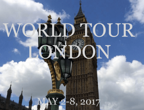 2017 | May | World Tour London