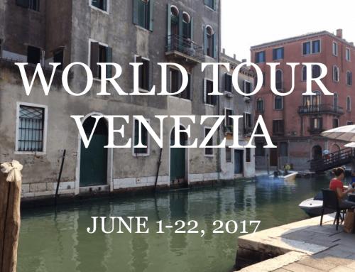 2017 | June | World Tour Venezia